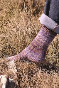 Heather Socks Featuring Strong Heel