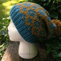 Diamond Slouch Hat