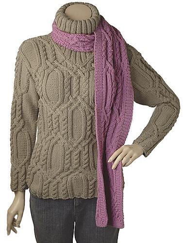 Knitting Patterns Galore Sinead Scarf