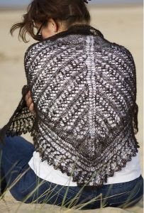 Ridge and Furrow Shawl