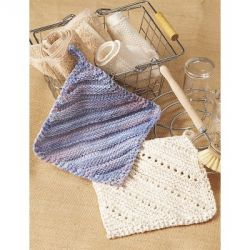 Eyelet & Ridge Dishcloth